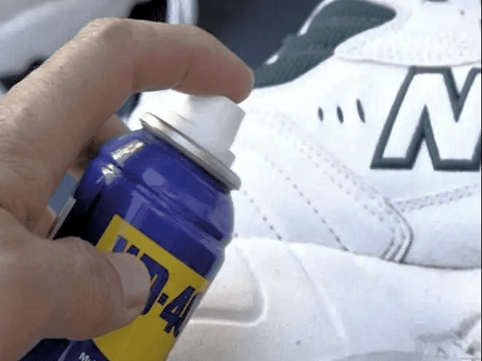 WD40 HACKS - Cleaning Dirty Shoes