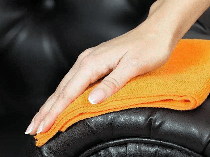WD40 HACKS - Conditioning Leather Furniture