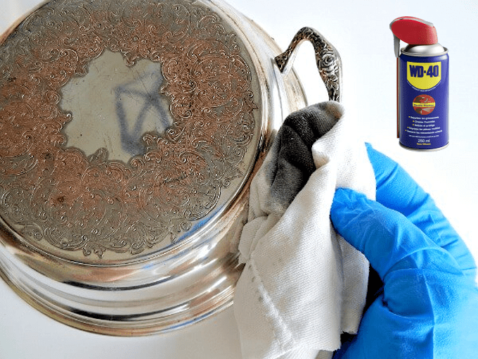 WD40 HACKS - Keeping Silver Clean And Bright
