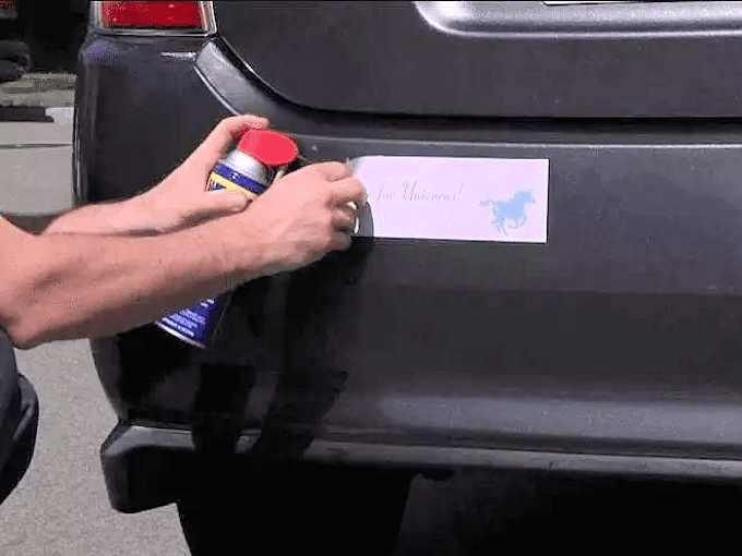 WD40 HACKS - Removing Annoying Price Tags, Decals and Stickers
